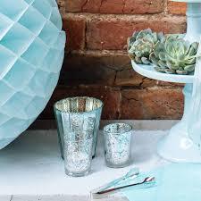 Mercury Glass Urn Vase Mercury Glass Vase Set Of Square Mercury Glass Vases 3 Geometric