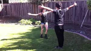 backyard wrestling antwan vs sarah round 1 youtube