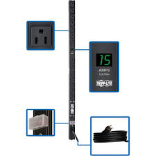 wall mount pdu amazon com tripp lite metered pdu 15a 14 outlets 5 15r 120v