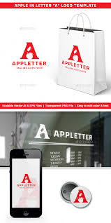 letter logos from graphicriver