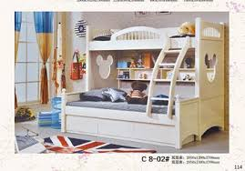 Bunk Bed Half Double Bed White Bedin Children Beds From Furniture - Half bunk bed