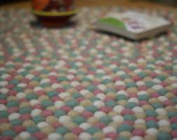 Pink And White Rug White And Mint Rug Etsy