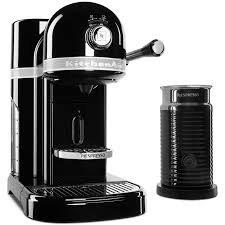 Home Kitchen Aid by Amazon Com Kitchenaid Kes0504fp Nespresso Bundle Frosted Pearl