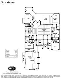 San Remo Floor Plans Fiddlers Creek Marsh Cove Harbourside Custom Homes U2013 Naples Fl