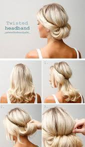 upsweep for medium length hair 10 hairstyle tutorials for your next gno