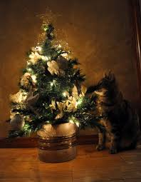 christmas tree small apartment christmas lights decoration