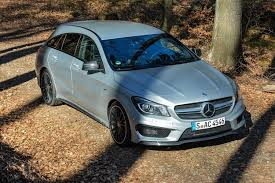mercedes 2015 2015 mercedes benz cla 45 amg shooting brake first drive review