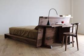 Beds That Have A Desk Underneath Bed Desk Combos Save Space And Add Interest To Small Rooms