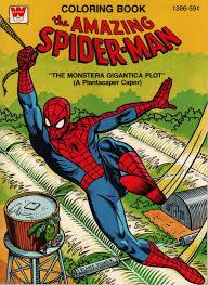 spiderfan org comics spider man coloring books whitman