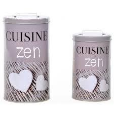 boite metal cuisine set de 2 boîte métal cuisine achat vente boites de