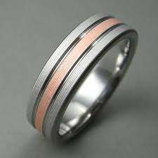 simple mens wedding bands goes wedding copper elegance simple men wedding bands made of