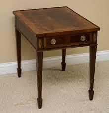 hekman federal style mahogany nightstand ebth
