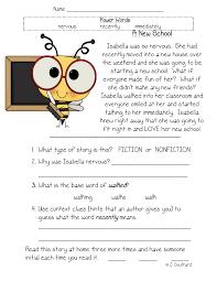 first grade reading comprehension worksheets worksheets