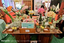 butterfly event styling at jakarta wedding festival 2015