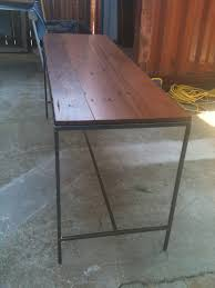 Metal Conference Table Staci Southwick Conference Table With Metal Base And Wood Slab Top