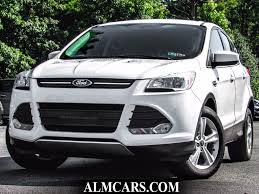 Ford Escape White - 2015 used ford escape fwd 4dr se at alm gwinnett serving duluth