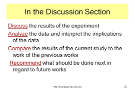 Dissertation results and discussion