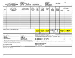 Per Diem Expense Report Template by Best Photos Of Travel And Expense Forms Excel Sample Expense