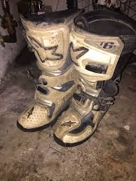 alpine motocross boots used alpine star motocross boots size 6 in cf45 abercynon for