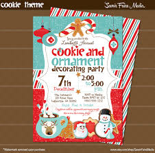 christmas ornament party invitations alesi info