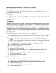 resume sle for customer service specialist job summary exle insides rep resume representative sle exles inside sales