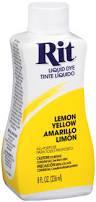 Will Rit Dye Stain My Bathtub Rit Dye Liquid Lemon Yellow Walmart Com