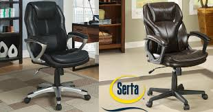 Kmart Desk Chair by Kmart Serta Executive Office Chair Only 93 15 Earn 79 38 Shop