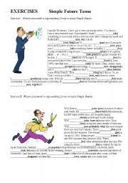 english teaching worksheets future simple