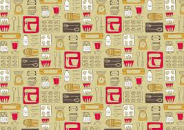 littletree designs spoonflower competition retro kitchen