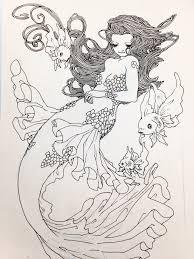 artoftrungles u201c mermaids u201d zentangle sea pinterest mermaid
