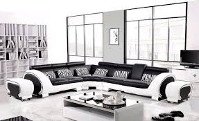 Large Black Leather Sofa Free Shipping Large L Shaped Genuine Leather Wood Frame