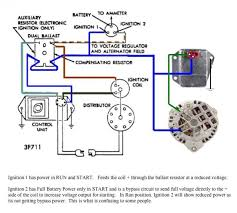 electronic ignition diagram ford electronic ignition wiring