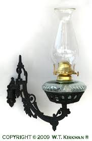 Cast Iron Wall Sconce Cast Iron Wall Bracket Oil Lamp At W T Kirkman Oil And Electric