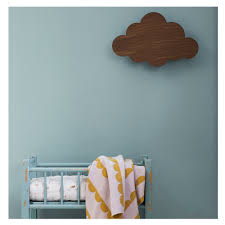 ferm living cloud lamp smoked oak wolken lampe aus holz furs kinderzimmer lampe