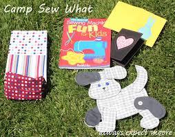 teaching kids sewing camp