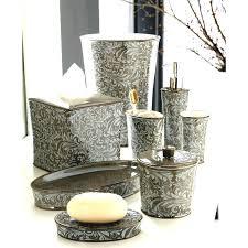 home improvement bathroom accessories sets silver perfect unique