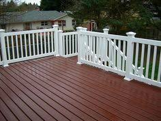 deck staining solid color stain navajo red sikkens decks