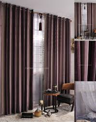 striped living room and bedroom designer drapes curtains