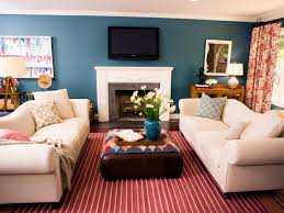 Rug Color Strippped Red Rugs With Cream Sofa Color And Some Pillow Also Smal