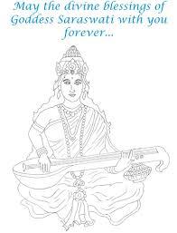 coloring download saraswati coloring pages saraswati coloring
