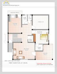 2500 Sq Ft House by Duplex House Plan And Elevation 2349 Sq Ft Home Appliance