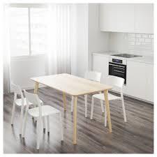 Easy To Assemble Desk Lisabo Table Ash Veneer 140x78 Cm Ikea