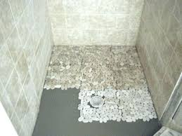 Bathroom Shower Floor Ideas Amazing Best 25 Pebble Shower Floor Ideas On Pinterest Grey Tile