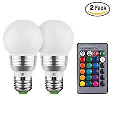 Switching To Led Light Bulbs by Kobra Led Bulb Color Changing Light Bulb With Remote Control 2