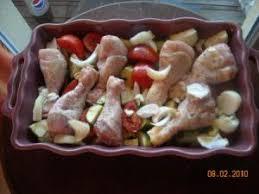 cuisiner pilon de poulet pilons de poulet aux legumes par danipi