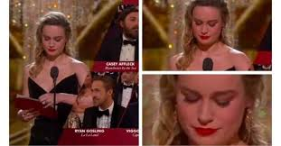 brie larson casey affleck brie larson didn t applaud casey affleck when he won his oscar