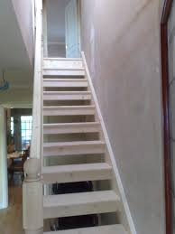 pine open stairs u2013 gdb construction ltd
