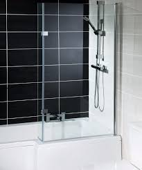 hand l shape shower bath 1700 includes glass bath screen u0026 bath