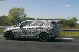 bmw van spy photos f46 bmw active tourer