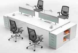 Office Glass Table Design Fascinating 70 Modern Office Cubicle Decorating Design Of Floor